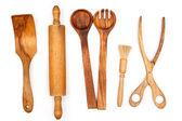 Ahşap mutfak gereçleri — Stok fotoğraf
