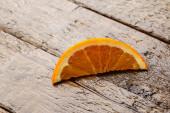 Slice of fresh orange — Stock Photo
