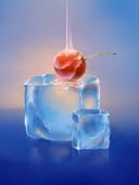 Cherry ice — Foto de Stock