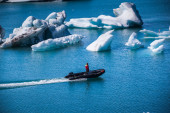 Glacier lake Joekulsarlon in Icelan — Stock Photo