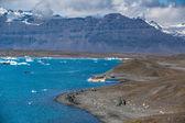 Glacier lake Joekulsarlon — Stok fotoğraf