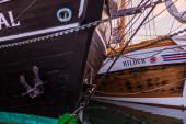Tall-ships bows — Stock Photo