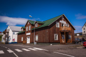 Traditional Icelandic architecture — Stock Photo