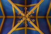 Ornamental decoration in a church — Stock Photo