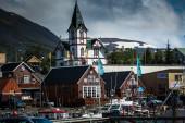 хусавик, исландия — Стоковое фото