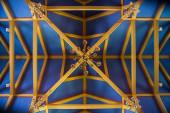 Bir kilisede dekorasyon — Stok fotoğraf
