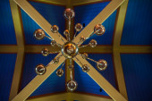 Ornamental decoration in a church — Stockfoto