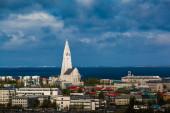 Cityscape of Reyjavik — Stockfoto