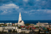 Cityscape of Reyjavik — Stock Photo