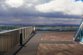 Lookout platform in Reykjavik — Stock Photo