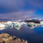 Glacier lagoon Jokulsarlon in Iceland — Stock Photo #52183077