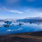 Glacier lagoon Jokulsarlon in Iceland — Stock Photo #52183231