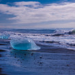 Lake with icebergs — Stock Photo #52184527