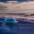 Lake with icebergs — Stock Photo #52184559