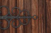 Wooden door in Iceland — Stock Photo