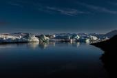 Glacier lagoon Jokulsarlon in Iceland — Stock Photo