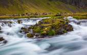 Whitewater river in Iceland — Stock Photo