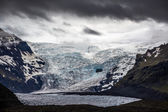 High altitude glacier — Stock Photo