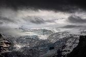 High altitude glacier — Foto de Stock