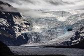High altitude glacier — Stock Photo