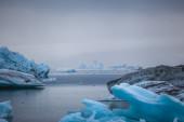 Glacier lagoon Jokulsarlon — Foto de Stock