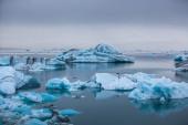 Glacier lagoon Jokulsarlon — Zdjęcie stockowe