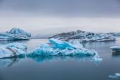Glacier lagoon Jokulsarlon — Stock Photo