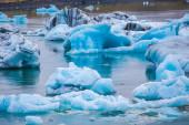 Glacier lagoon Jokulsarlon — Stockfoto