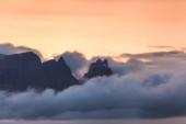 Beautiful sunset cloudscape — Stock Photo