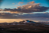 Desolate volcanic landscape — Stock Photo