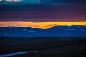 Desolate Icelandic landscape — Stock Photo