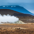 Geothermal vent letting off steam — Stockfoto #52191107