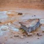 Natural sulphur springs — Stock Photo #52194089