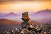 Cairn of rocks — Stock Photo