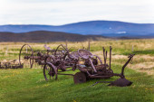Old agricultural equipment — Stock Photo