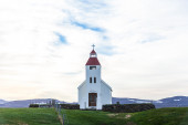 Picturesque rural church — Stock Photo