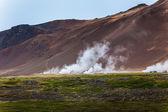 Geothermal region of Hveraroend — Stock Photo