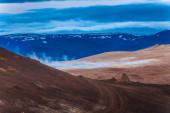 Geothermal landscape — Stock Photo