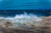 沸騰の泥 — ストック写真