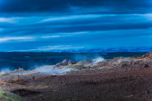 Geothermal landscspe — Stock Photo