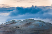 Natural heated gases and fumaroles — Stock Photo