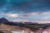 Scenic landscape in Hveraroend — Stock Photo