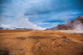 Geothermal activity — Stock Photo