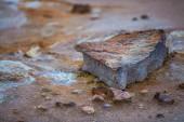 Natural sulphur springs — Stock Photo