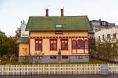 Icelandic architecture in Reykjavik — Stock Photo
