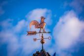 Bronze weathercock — Stock Photo