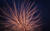 White firework — Foto Stock