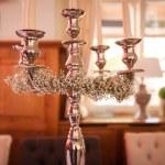 stříbrný svícen — Stock fotografie #54564667