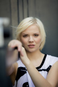 Young attractive blonde girl  — Stock Photo