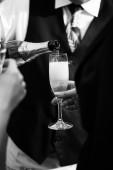 Champaign glass — Stock Photo
